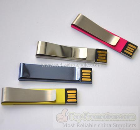 Metal Chip USB drive, Clip shape USB key