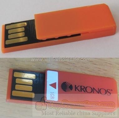 Mini Bookmark clip USB flash drive