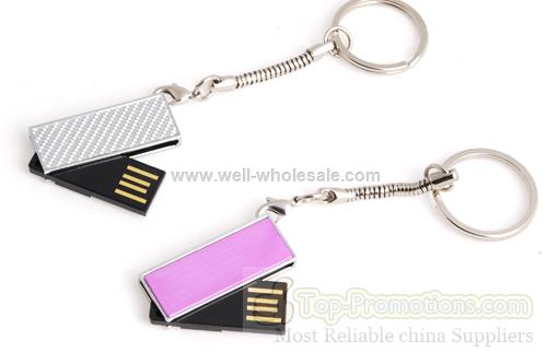 Sony Hp swivel usb drive with key chain
