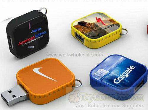 Square Magic Rotary USB Flash Stick with Citibank