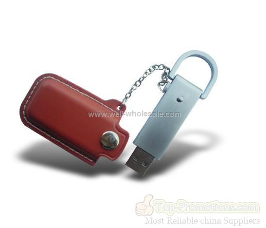 high quality leather usb