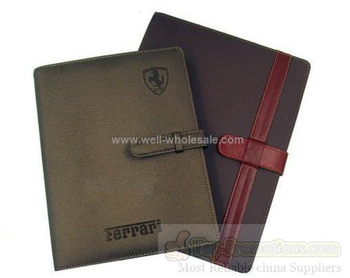 PU leather 2012 hardcover diary