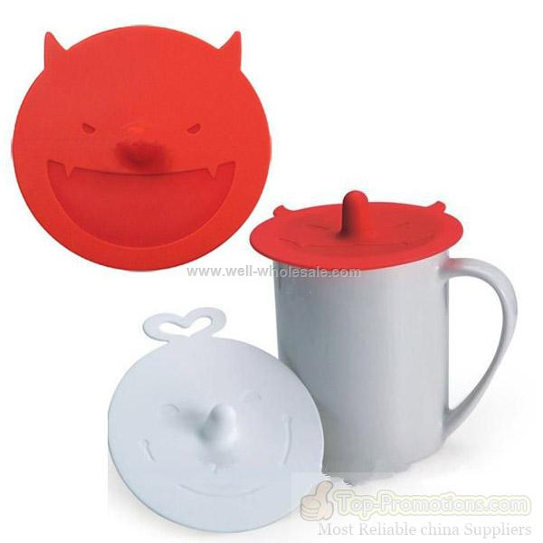 eco-friendly silicone mug cup lid