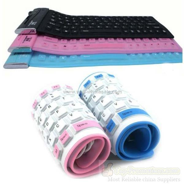 USB Flexible Silicone Keyboard