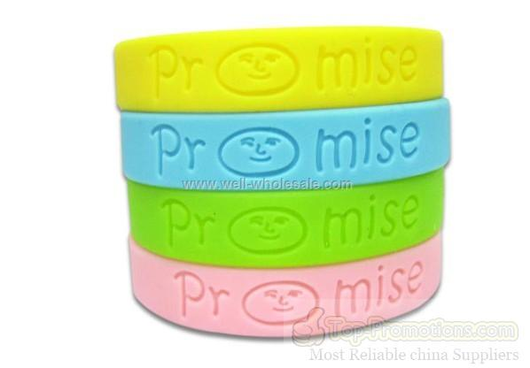 Custom Silicone Wristbands Personalized Rubber Bracelet