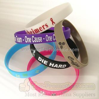 Silicone Rubber Wristband