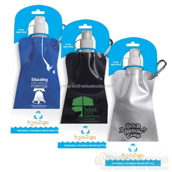 Company Logo Eco-Splash 16 Oz. Reusable Water Bottle