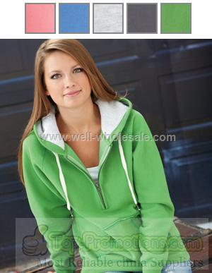 Blue 84 Women's Fleece Half Zip Hoodie