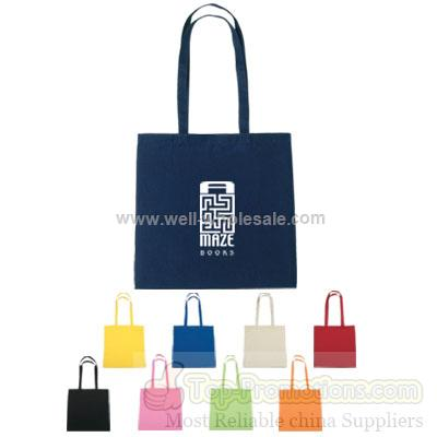 5 oz. Color Cotton Tote Bags