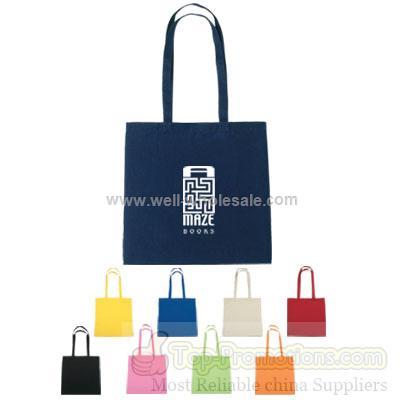 5 oz. Color Cotton Tote Bags