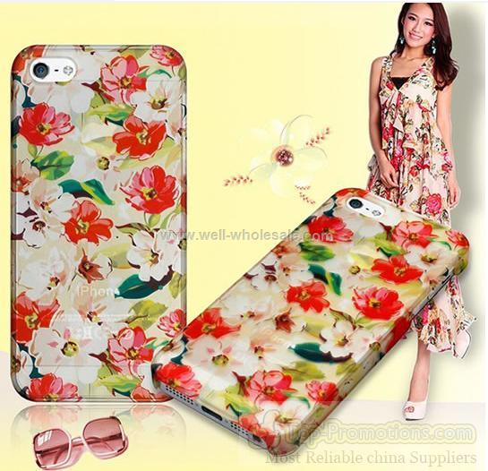 iPhone5 cases water transfer printing