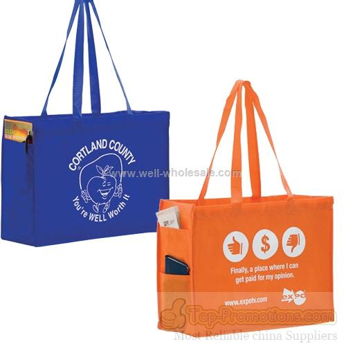 Non-Woven Tote with Handy