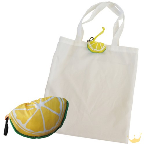 Lovely Lemon Fold Shopping Bag