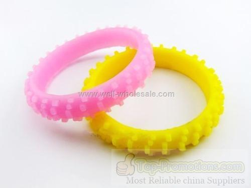 Wheel Silicone Bracelet