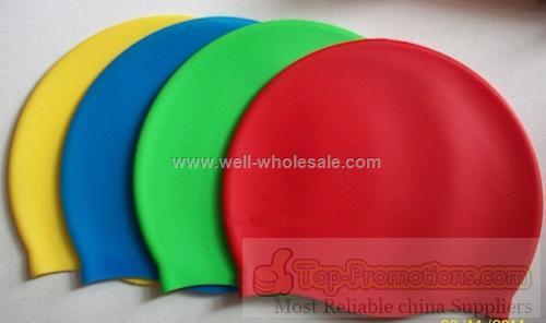 Silicone swim cap/Silicone swimming cap