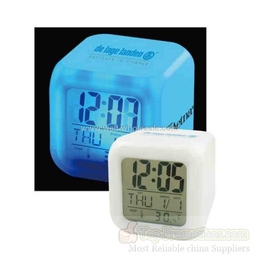 Cube Shaped Digital Clock