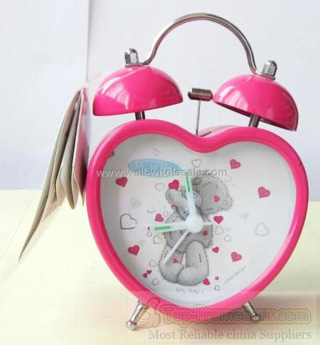 METAL TWIN BELL ALARM CLOCK