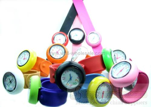 Silicone Slap Watch/ Fun watch