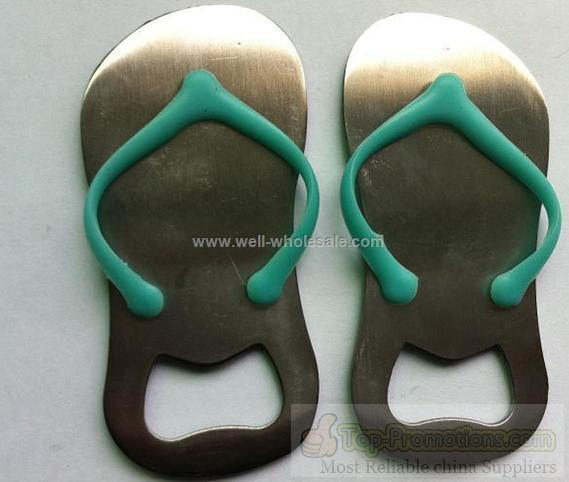 lovely shoes shape stainless steel bottle opener