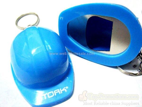 wholesale hard hat bottle opener keychain fob china us well. Black Bedroom Furniture Sets. Home Design Ideas