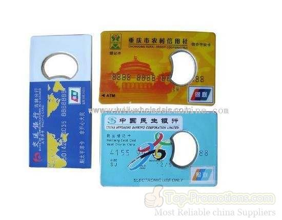 Card Acrylic Bottle Opener