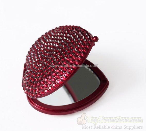 2012 Year Fshion Crystal Compact mirror