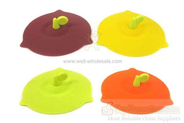creative silicone water cup lid
