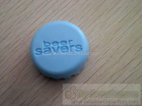 Silicone bottle cap
