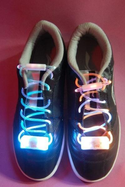 Glowing LED shoe lace