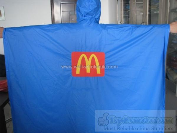 Recyclable PVC Raincoat