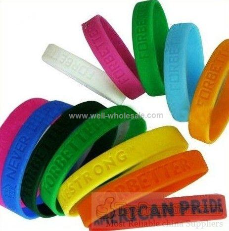 children silicone wristbands