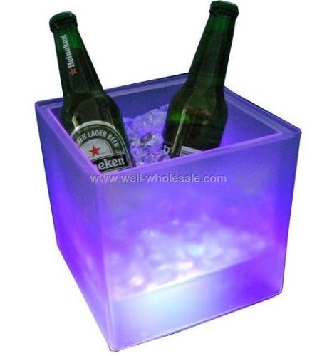 Plastic LED Square Buckets