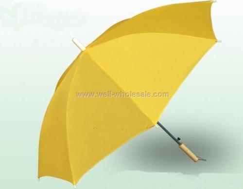 Promotional Yellow folding Umbrella