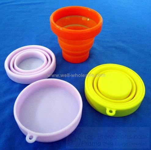 Silicone Foldable Folding Water Cup