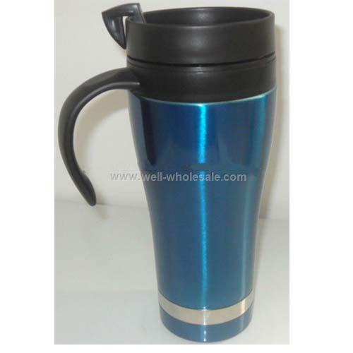 stainless steel Travel Mug with pp lid