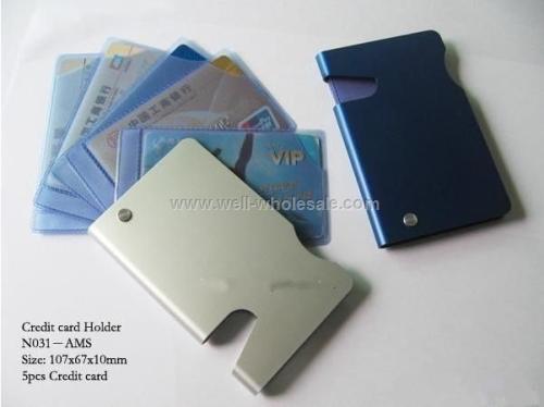 Aluminum Credit Card Holder