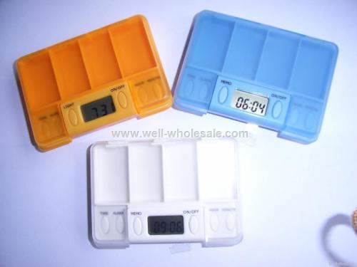 Pill Box Timer, Pill Box With Timer