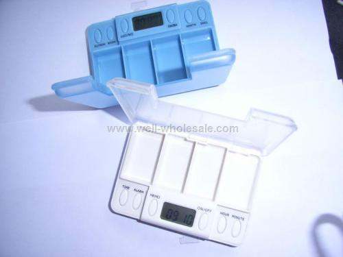 Multi Alarm pill timer, digital timer box