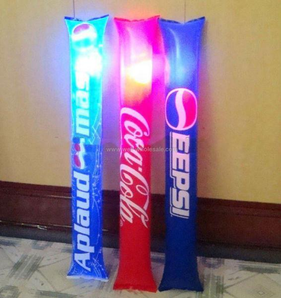 2013 hot selling high quality PE LED cheering stick