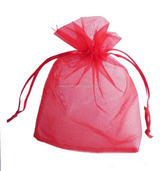 Drawstring organza bag