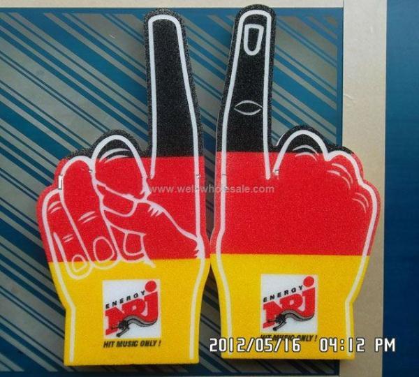 Fantastic Sponge Foam Fans Cheer Hand Foam finger