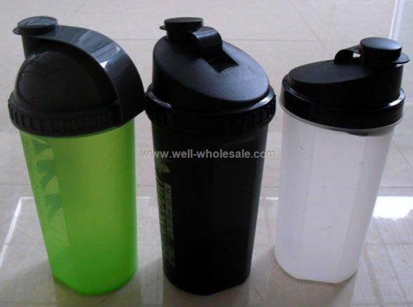 700ml PP protein shaker water bottle