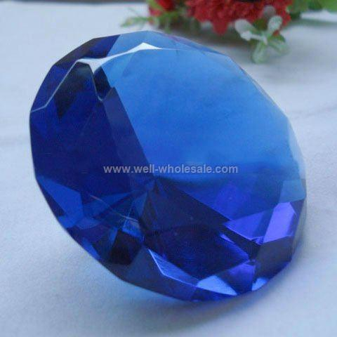 Hot sale wedding gift Crystal Diamond paperweight