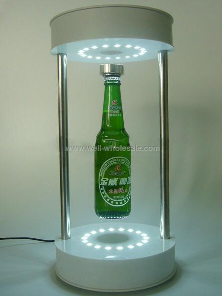LED Lighting Magnetic Liquor Stand Display