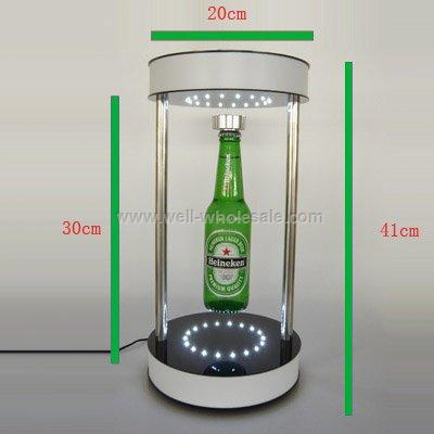 magnetic floating bottle display
