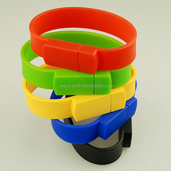 Silicon Wristband USB Flash Drive
