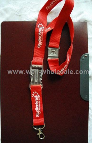 custom promotional lanyard