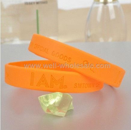 Colorful Customized Silicone Bracelets
