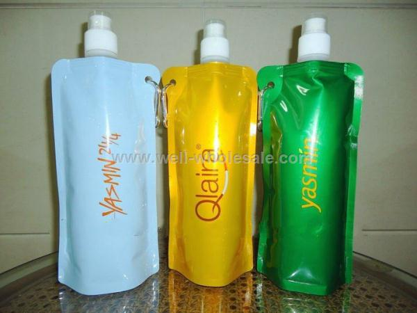 480ml fashion foldable bottle