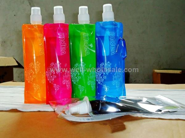 PE Eco-friendly Foldable bottle